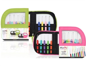 Knitpro waves crochet hook set