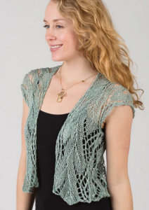 Swirling Vines Vest