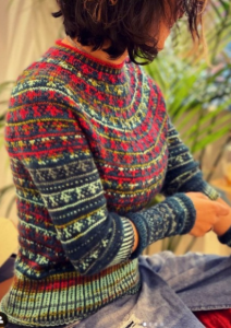 Leisurely Slip Stitch Sweater